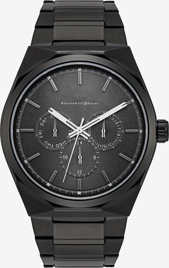 Rhodenwald & Söhne Armbanduhr 'Cooledge Multifunktion IPBLK' in schwarz, Produktansicht