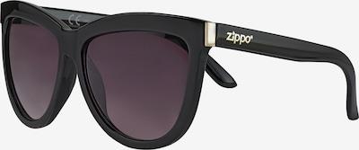 ZIPPO Sonnenbrille 'Cat-Eye Smoke Flash Black' in schwarz, Produktansicht