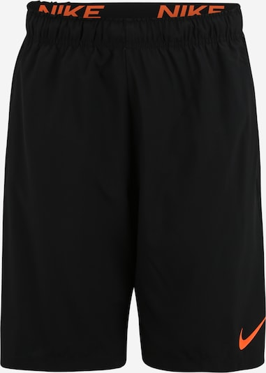 NIKE Sporthose 'Flex' in orange / schwarz, Produktansicht
