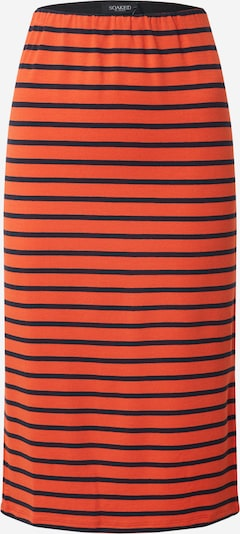 SOAKED IN LUXURY Rock 'SLOlinda' in navy / orangerot, Produktansicht