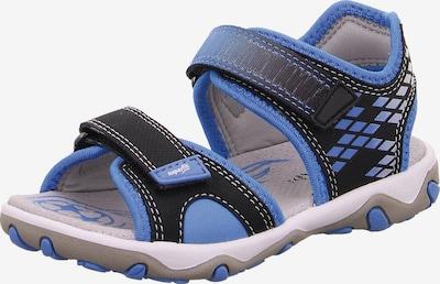 SUPERFIT Sandale 'Mike' in blau / nachtblau, Produktansicht