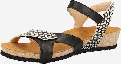 THINK! Sandaletten in schwarz / weiß, Produktansicht