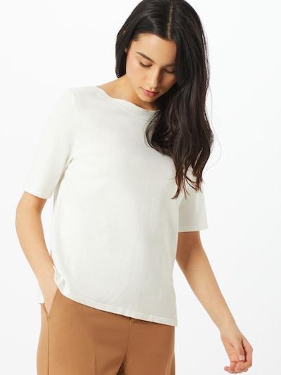 s.Oliver BLACK LABEL Pullover in weiß, Modelansicht