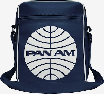 LOGOSHIRT Tasche 'Pan American World Airways' in nachtblau / weiß, Produktansicht
