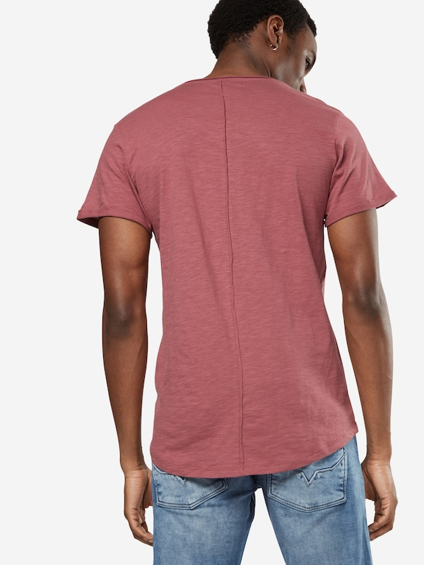 TOM TAILOR DENIM T-Shirt 'NOS slub tee with pocket'