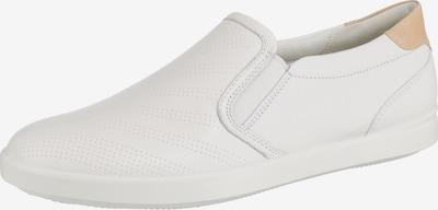 ECCO Slip-Ons in hellbeige / weiß, Produktansicht