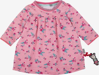 SIGIKID Kleid in aqua / rosa / rot: Frontalansicht