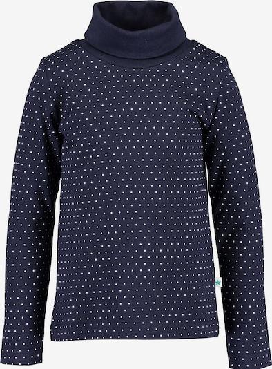 BLUE SEVEN Shirt in dunkelblau / weiß, Produktansicht