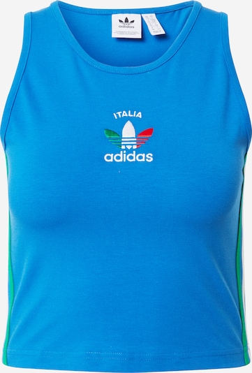 ADIDAS ORIGINALS Top in blau, Produktansicht
