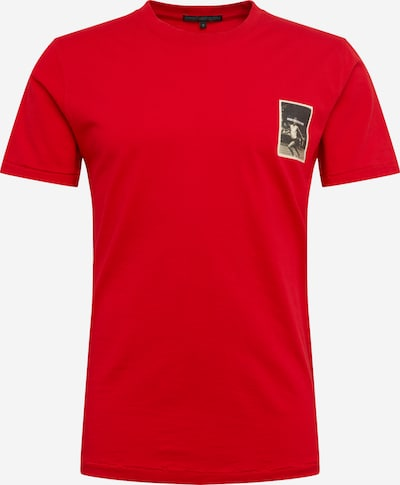DRYKORN T-Shirt 'SAMUEL' in rot, Produktansicht