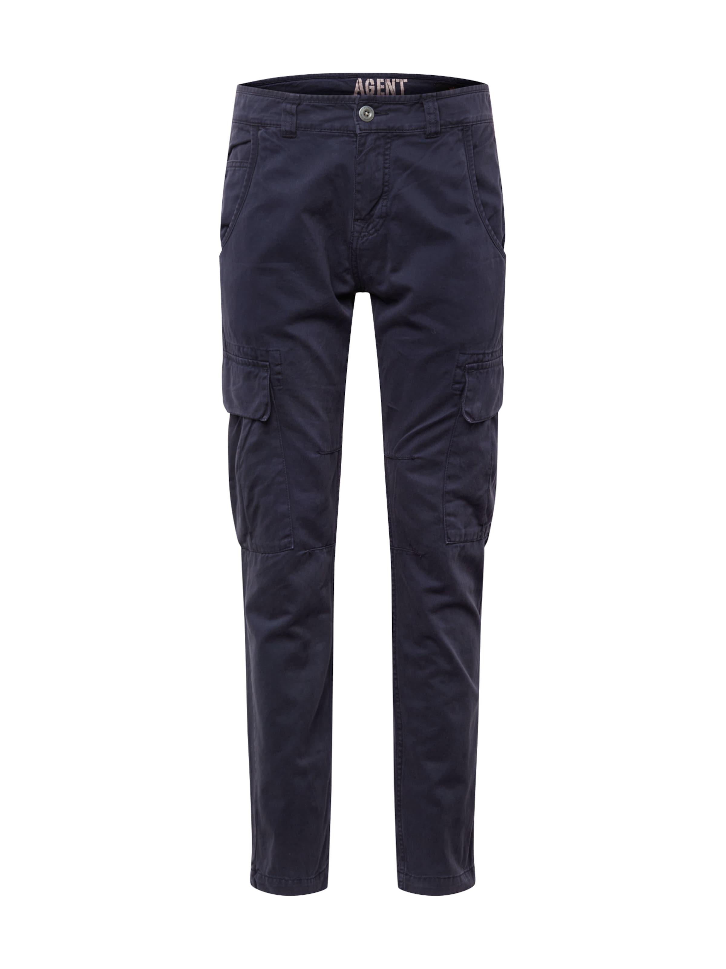 Pantalon Cargo 'agent' Alpha Foncé Industries Bleu En OulkTPZiwX