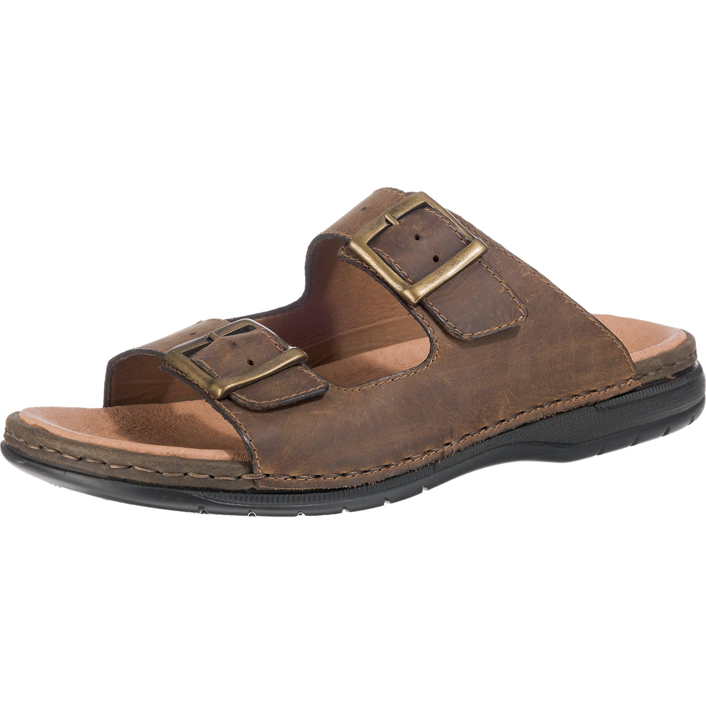 RIEKER | Sandalen mit goldenen Schnallen