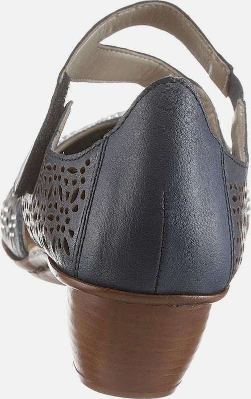 e983c899f5f3b RIEKER Spangenpumps Verschleißfeste billige Schuhe Hohe Qualität ...