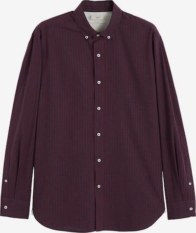 MANGO MAN Koszula 'Vichy' w kolorze atramentowy / czerwone winom, Podgląd produktu