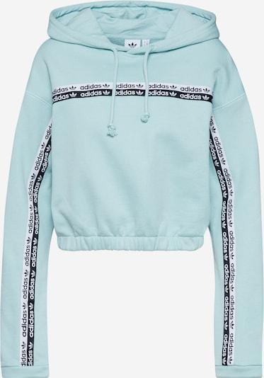 Bluză de molton ADIDAS ORIGINALS pe turcoaz / albastru deschis, Vizualizare produs