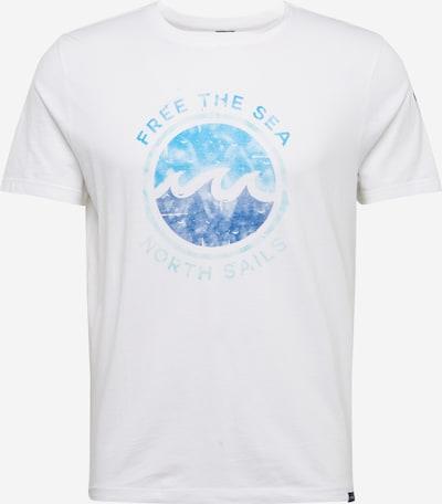 North Sails Majica | modra / bela barva, Prikaz izdelka