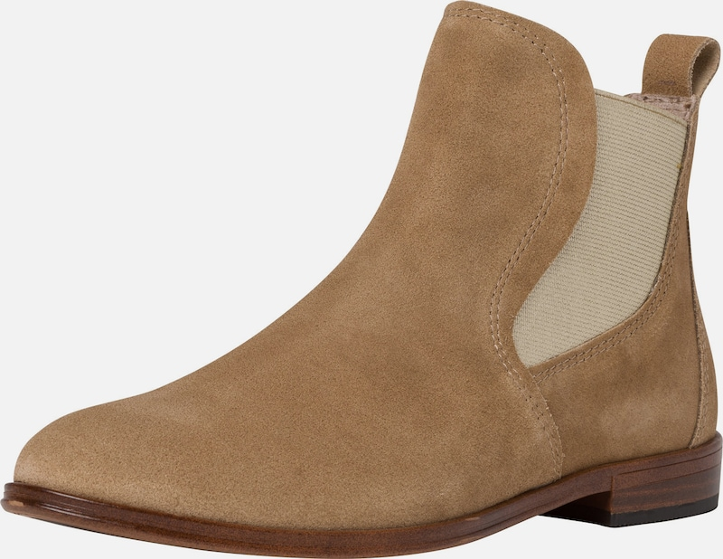 MARCO TOZZI Chelsea Boot in beige, Produktansicht