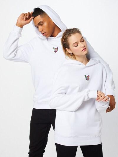 PARI Sweatshirt 'Pelin Hoodie' in weiß: Frontalansicht