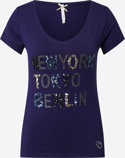 Key Largo T-Shirt 'New York' in marine, Produktansicht