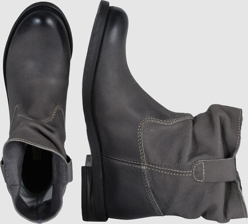 BUFFALO Flache Stiefeletten aus Leder Hohe Qualität