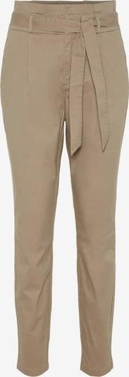 VERO MODA Voltidega püksid 'Eva' helebeež, Tootevaade