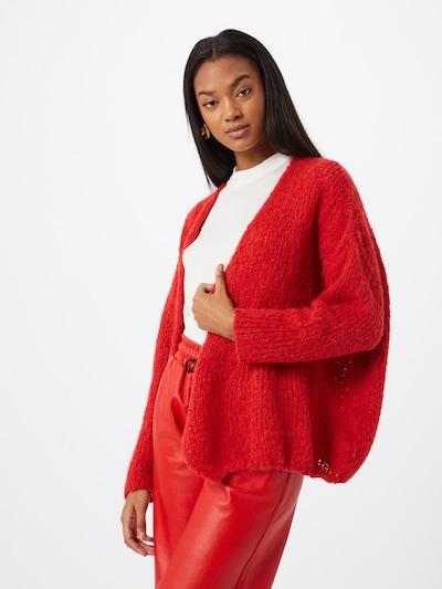 AMERICAN VINTAGE Kardigan 'Boolder' - červená, Model/ka