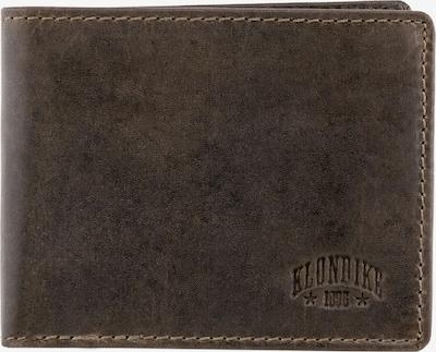 KLONDIKE 1896 Börse 'Amos' in dunkelbraun, Produktansicht