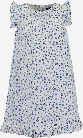BLUE SEVEN Kleid in blau / weiß, Produktansicht