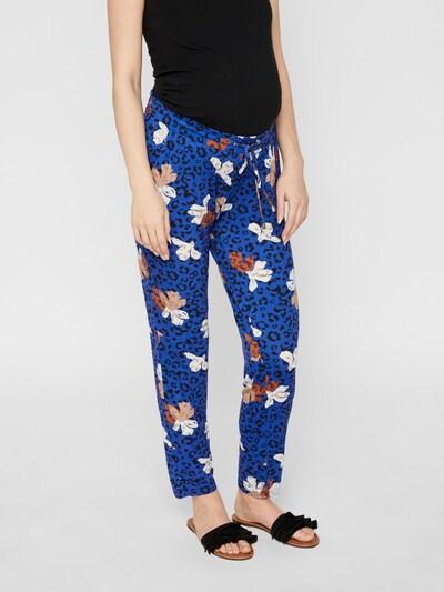 MAMALICIOUS Hose in blau / mischfarben, Modelansicht