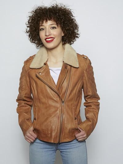 MUSTANG Veste mi-saison 'Anda ff' en marron: Vue de face