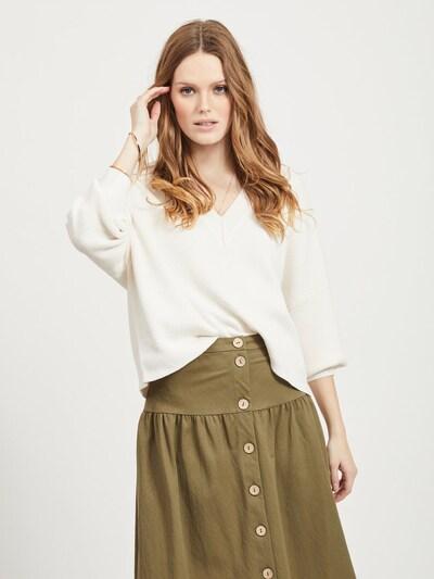 OBJECT Strickpullover in weiß, Modelansicht