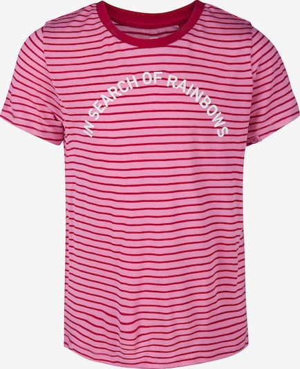 WE Fashion T-Shirt in pink: Frontalansicht