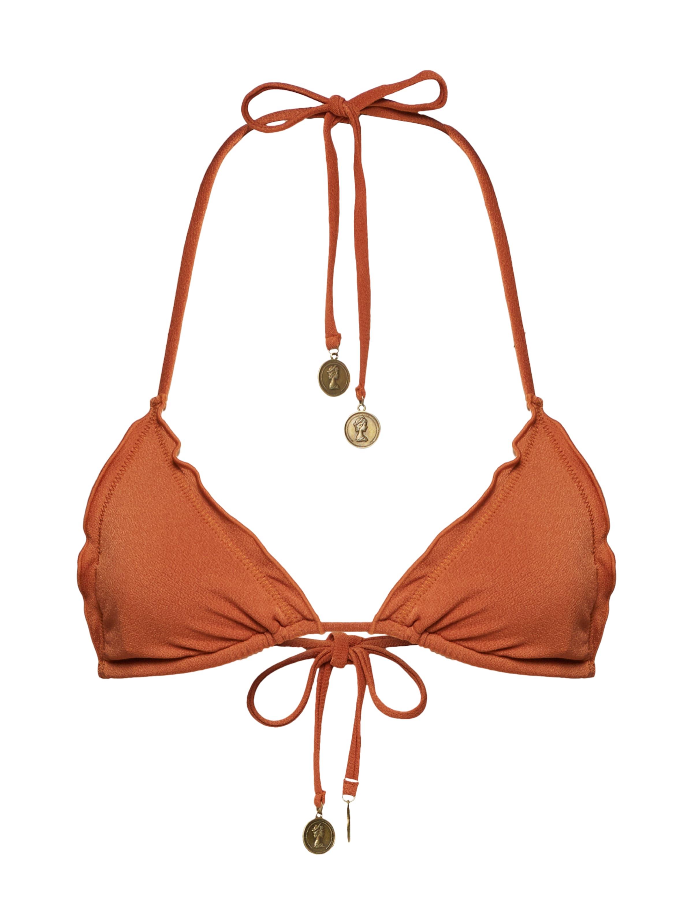 Hauts Triangle' Bikini Minkpink De En 'biscotti Cognac TK1cJ3lF