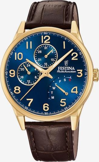 FESTINA Uhr 'F20279/B' in blau / braun, Produktansicht