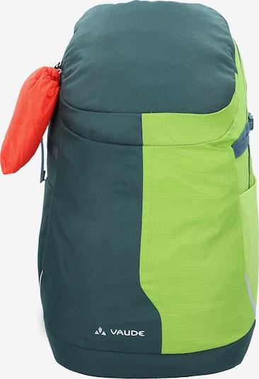 VAUDE Sportrugzak 'Tecowork III' in de kleur Groen / Limoen, Productweergave