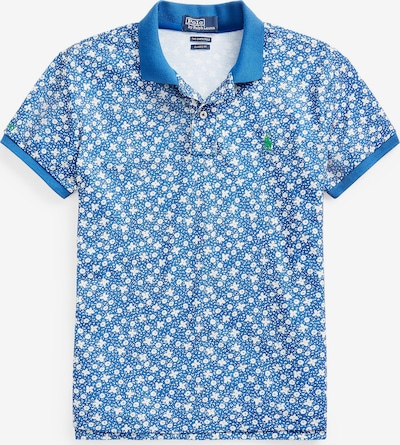 POLO RALPH LAUREN Shirt 'PRNT CLSC FT' in de kleur Blauw / Wit, Productweergave