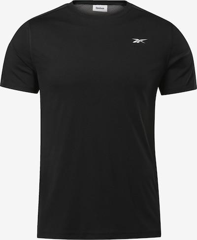 REEBOK T-Shirt fonctionnel en noir, Vue avec produit