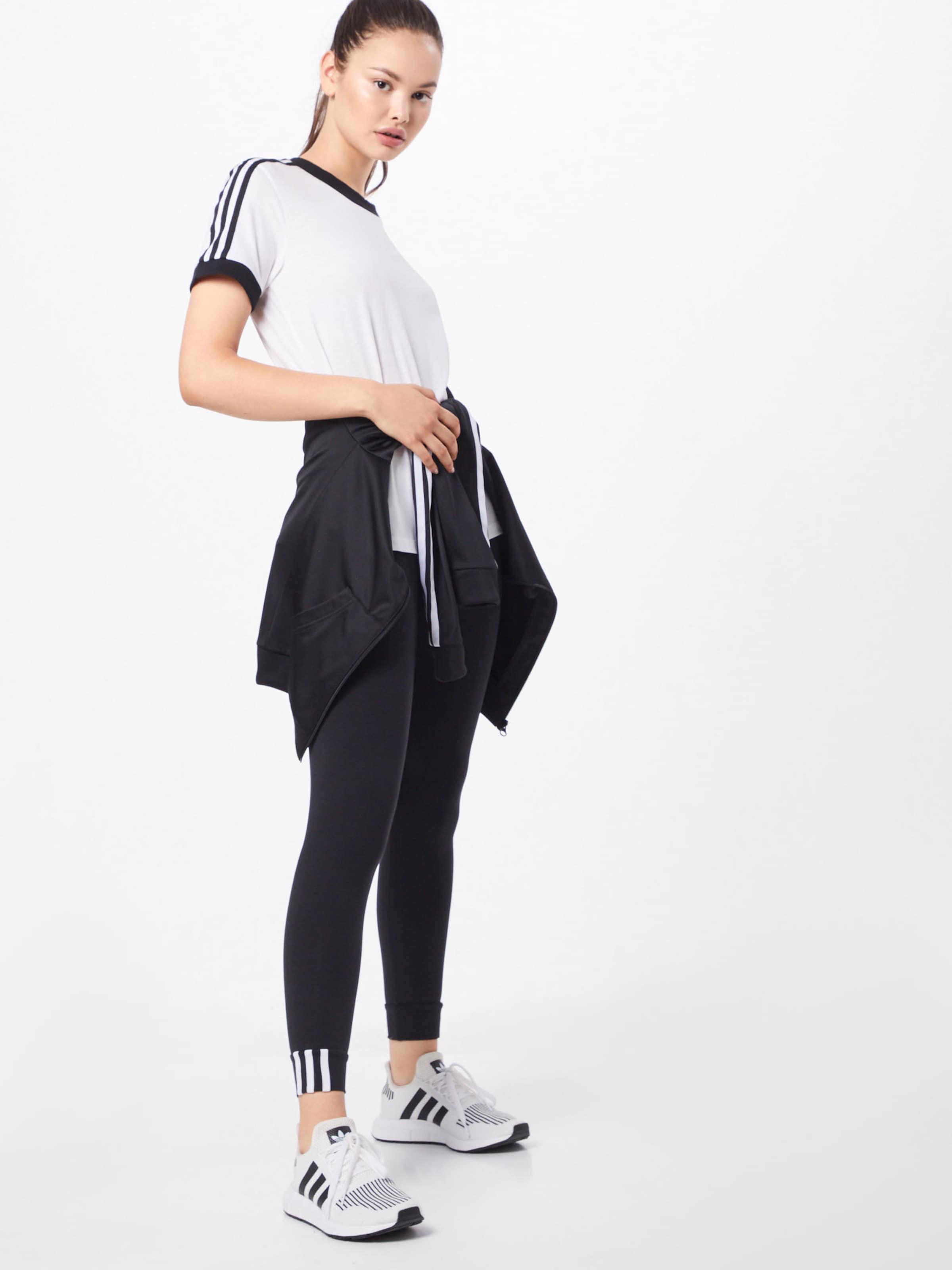 Originals Str Tee' In SchwarzWeiß '3 Adidas T shirt TcFK1lJ