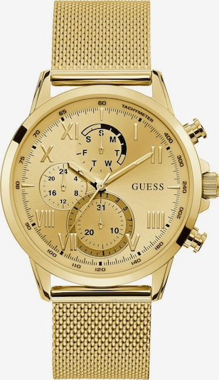 GUESS Multifunktionsuhr 'Porter, W1310G2' in champagner / gold, Produktansicht