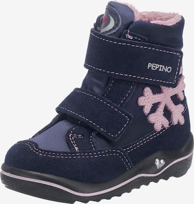 Pepino Winterstiefel in blau / hellpink, Produktansicht