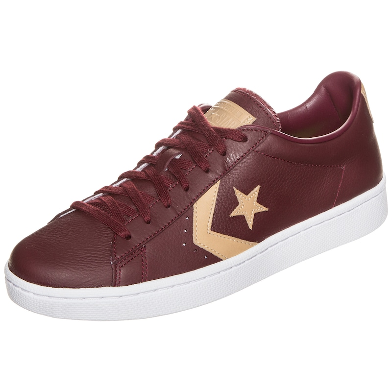 CONVERSE 'Pro Leather 76 OX' Sneaker in burgunder   ABOUT YOU