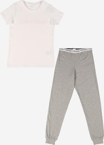 Calvin Klein Underwear Pyjamaset in Weiß