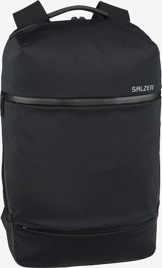 SALZEN Laptoprucksack in schwarz, Produktansicht