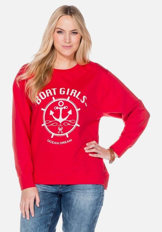 sheego casual Casual Sweatshirt