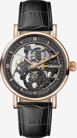 INGERSOLL Automatikuhr 'The Herald Automatic' in gold / schwarz, Produktansicht