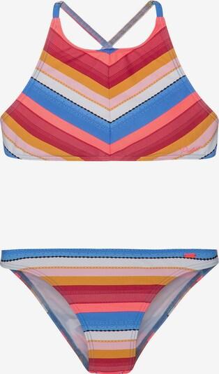 PROTEST Bikini 'Maggie' in blau / mischfarben / rotmeliert, Produktansicht