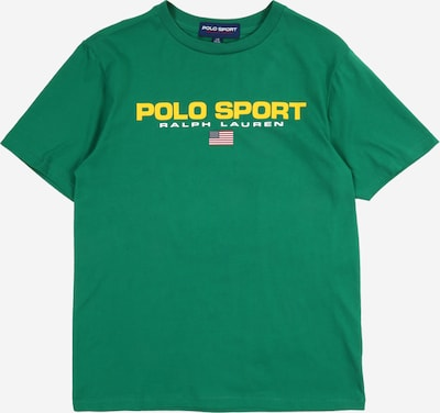 POLO RALPH LAUREN Shirt 'SS CN' in grün, Produktansicht