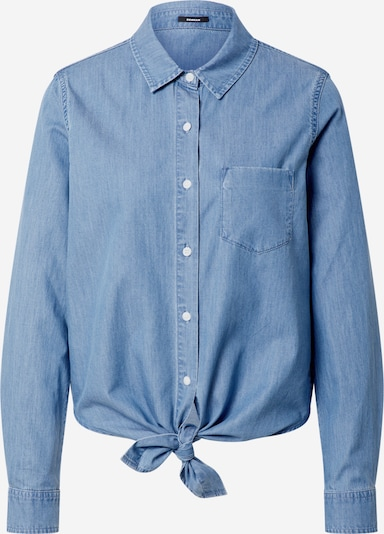 DENHAM Blouse 'Ellen' in de kleur Blauw denim, Productweergave