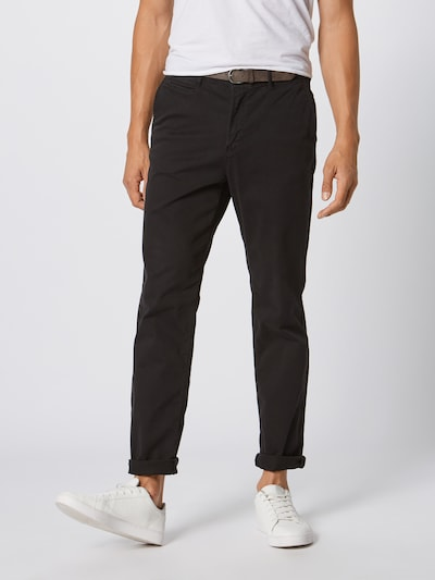 JACK & JONES Hose 'ROY JAMES' in schwarz, Modelansicht