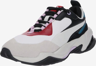 PUMA Sneaker 'Thunder Rive Droite' in beige / petrol / feuerrot / schwarz, Produktansicht